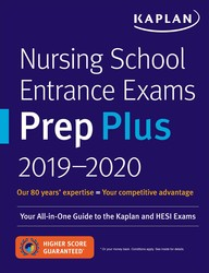Nursing School Entrance Exams Prep Plus 2019-2020