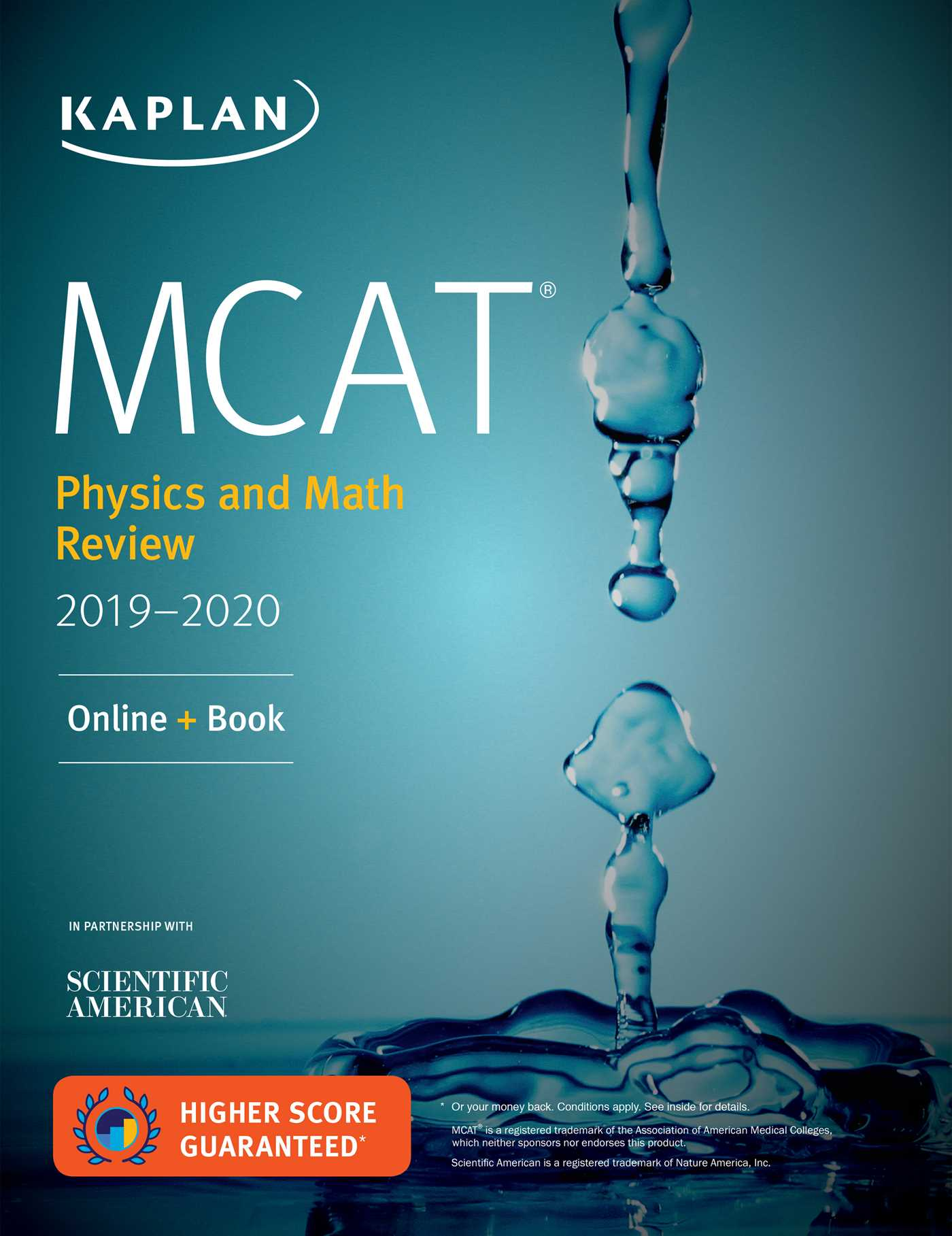 Mcat physics and math review 2019 2020 book by kaplan test prep book cover image jpg mcat physics and math review 2019 2020 fandeluxe Image collections
