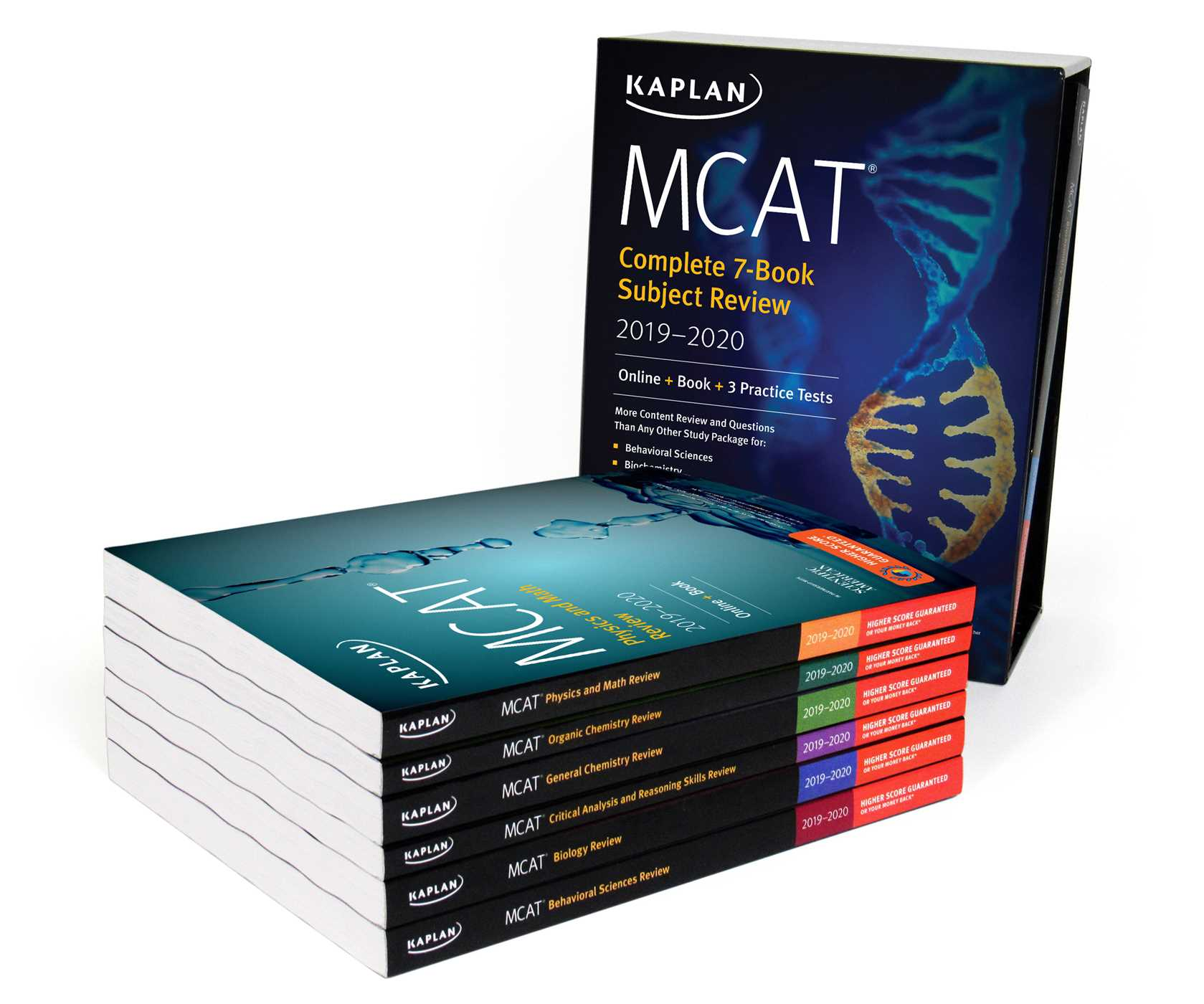Book Cover Image Jpg MCAT Complete 7 Subject Review 2019 2020