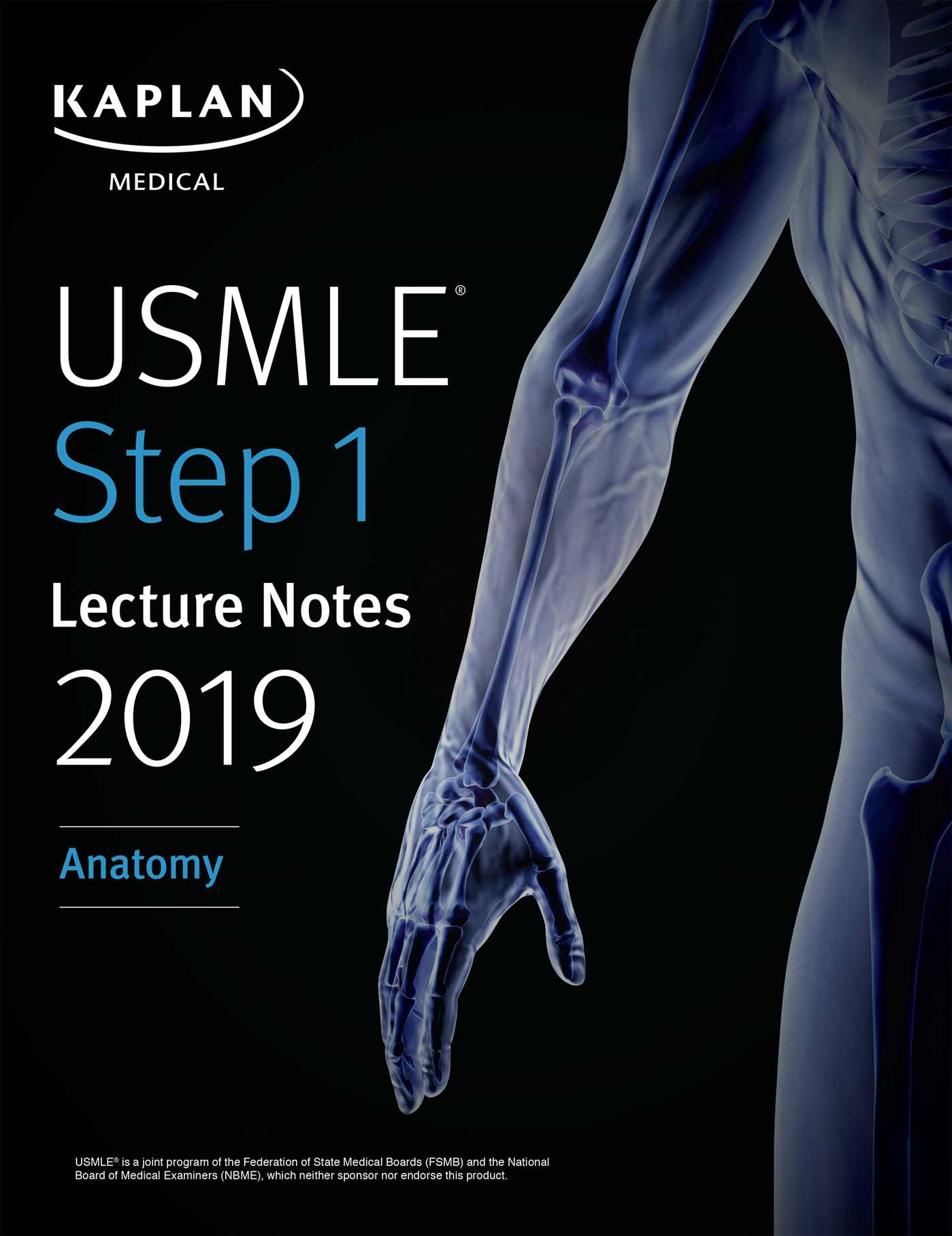 Usmle Step 1 Lecture Notes 2019 Anatomy Ebook By Kaplan Medical