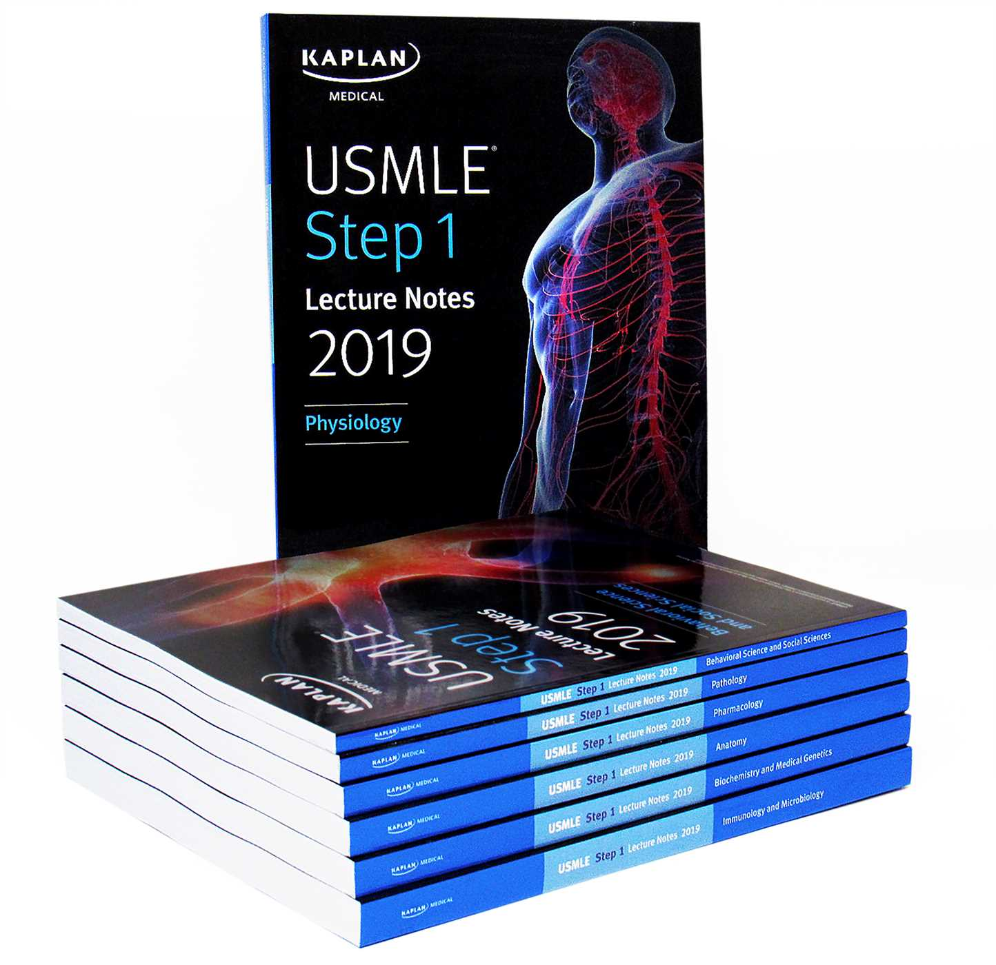 USMLE Step 1 Lecture Notes 2019: 7-Book Set | Book by Kaplan Medical ...