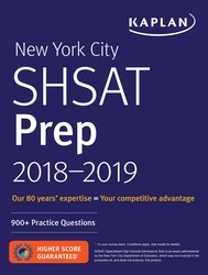 New York City SHSAT Prep 2018-2019