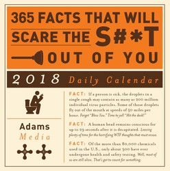 365 Facts That Will Scare the S#*t Out of You 2018 Daily Calendar