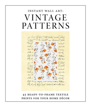 Instant Wall Art - Vintage Patterns