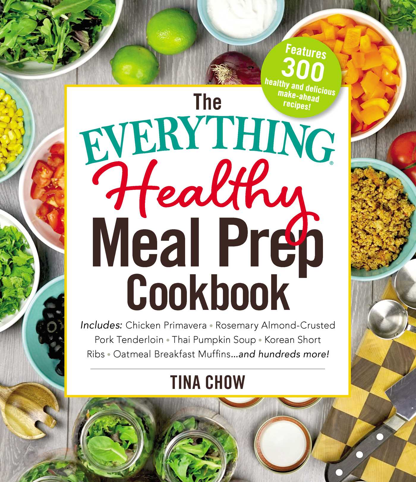 The everything healthy meal prep cookbook 9781507205983 hr