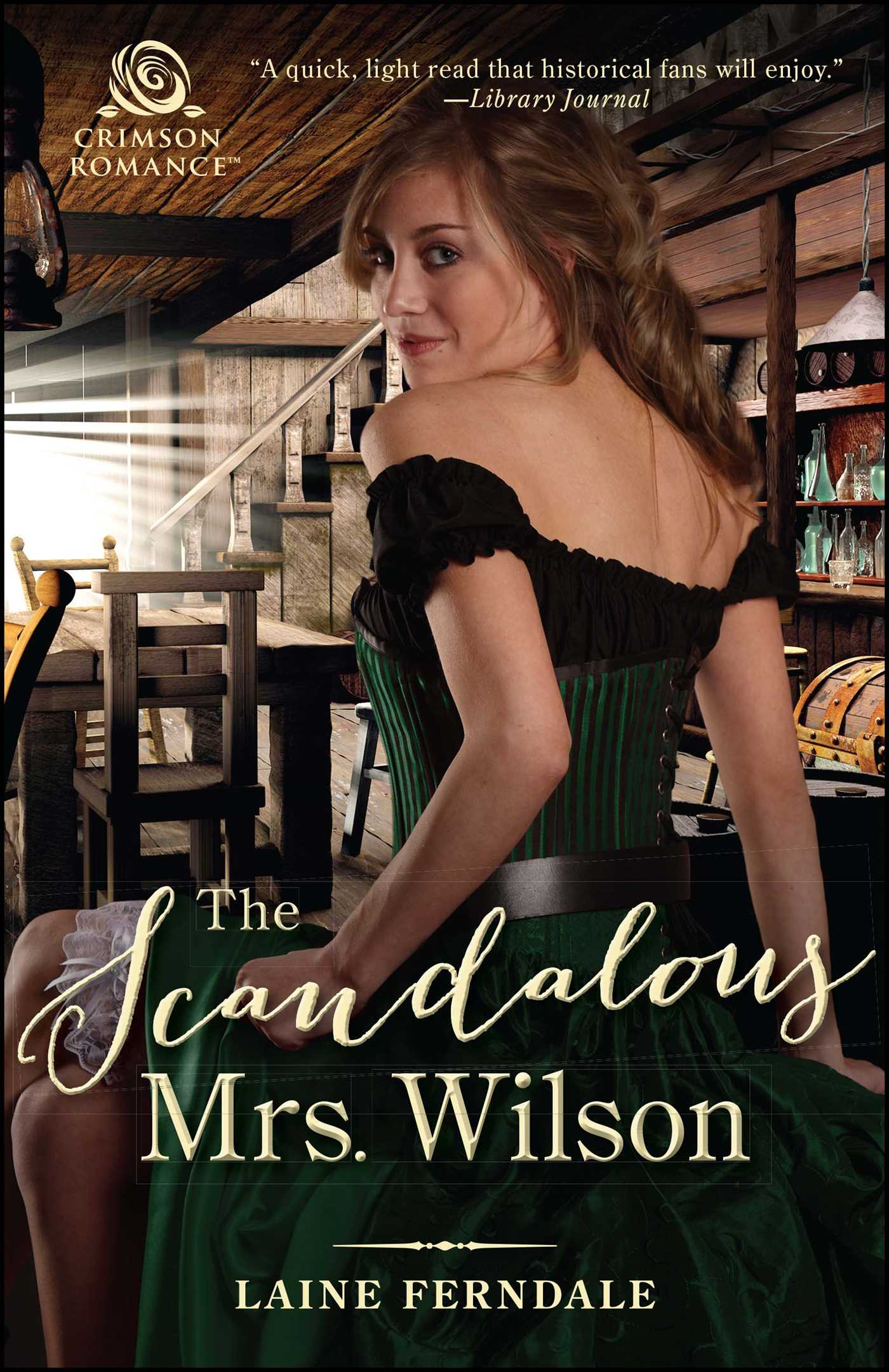 The scandalous mrs wilson 9781507206249 hr