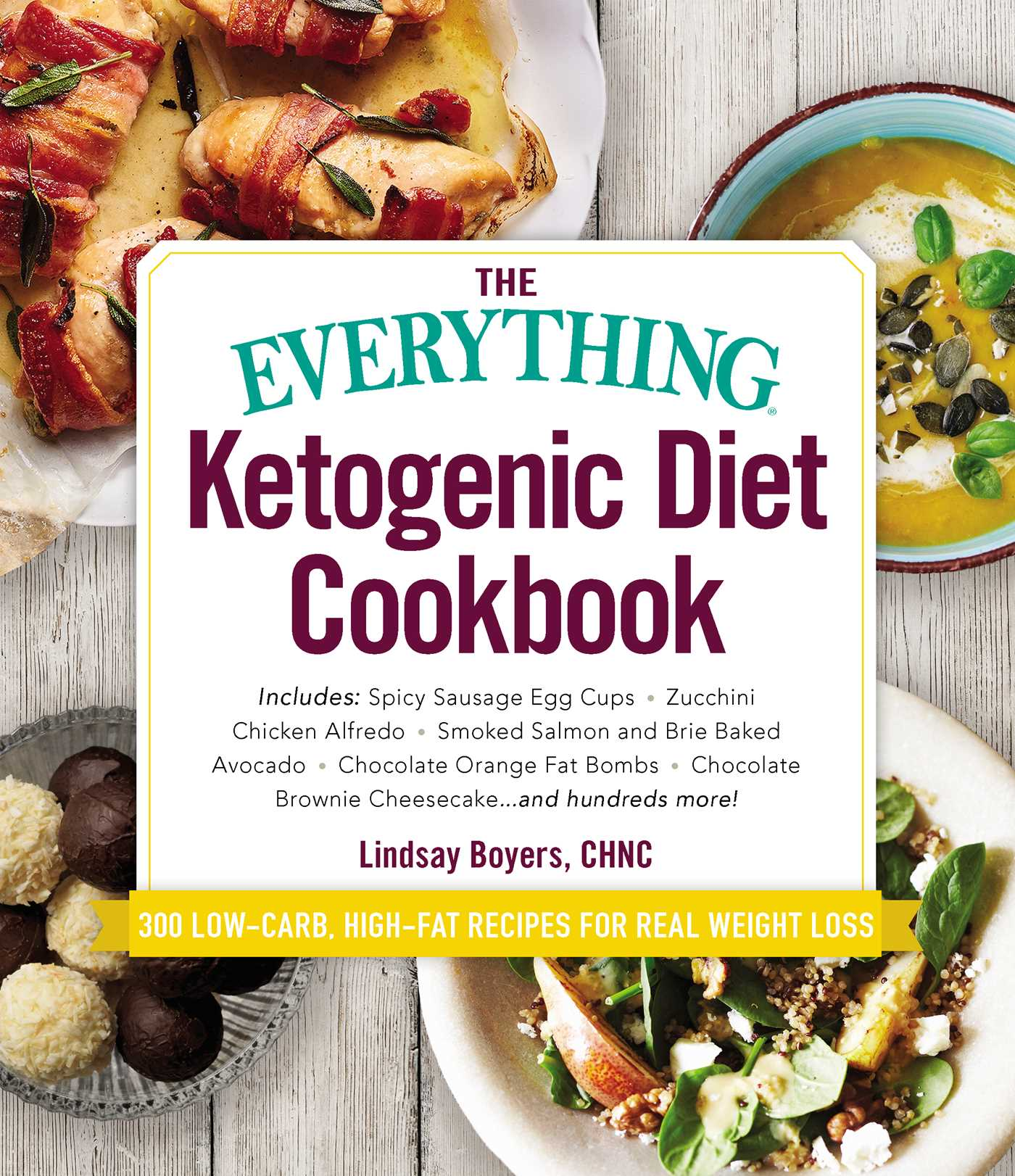 Everything Ketogenic Diet Cookbook