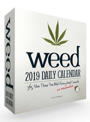 Weed 2019 Daily Calendar