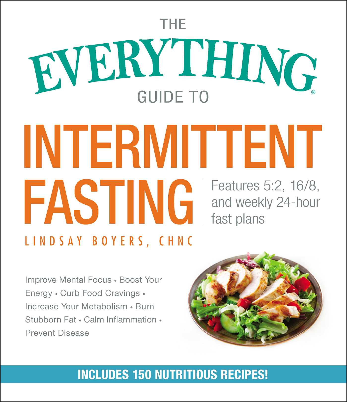 Book Cover Image Jpg The Everything Guide To Intermittent Fasting