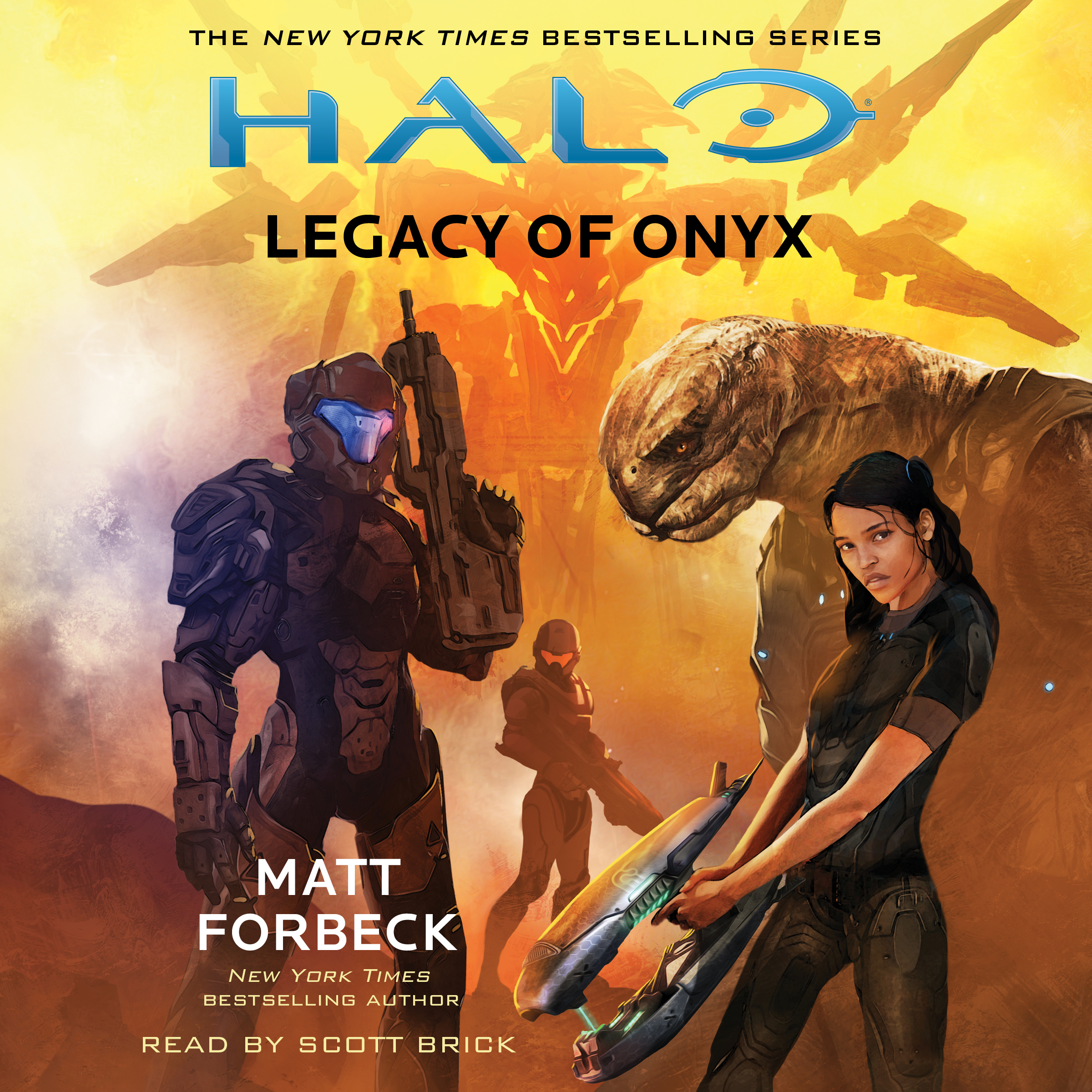Halo legacy of onyx 9781508226666 hr