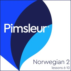 Pimsleur Norwegian Level 2 Lessons  6-10 MP3