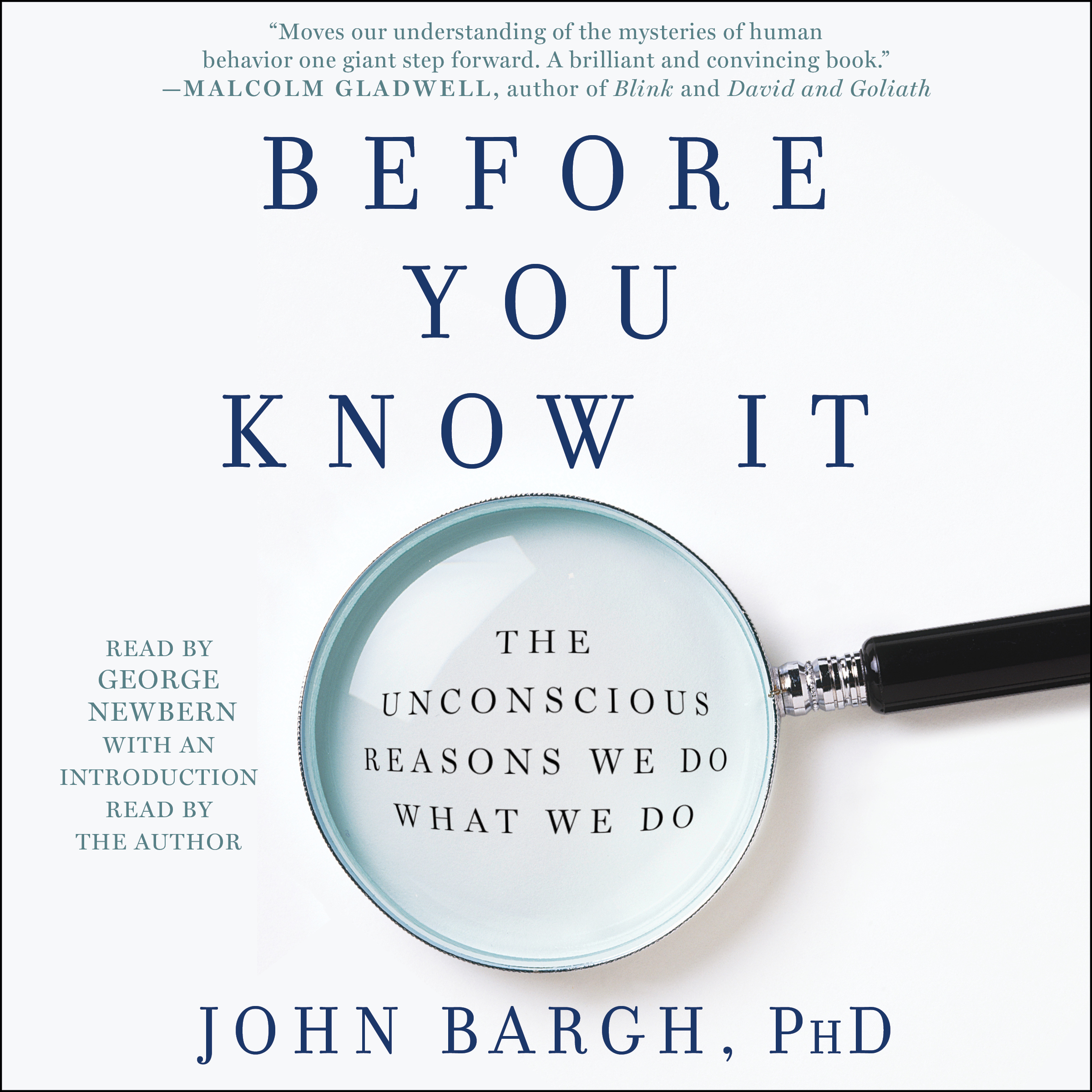 John bargh official publisher page simon schuster book cover image jpg before you know it fandeluxe Choice Image