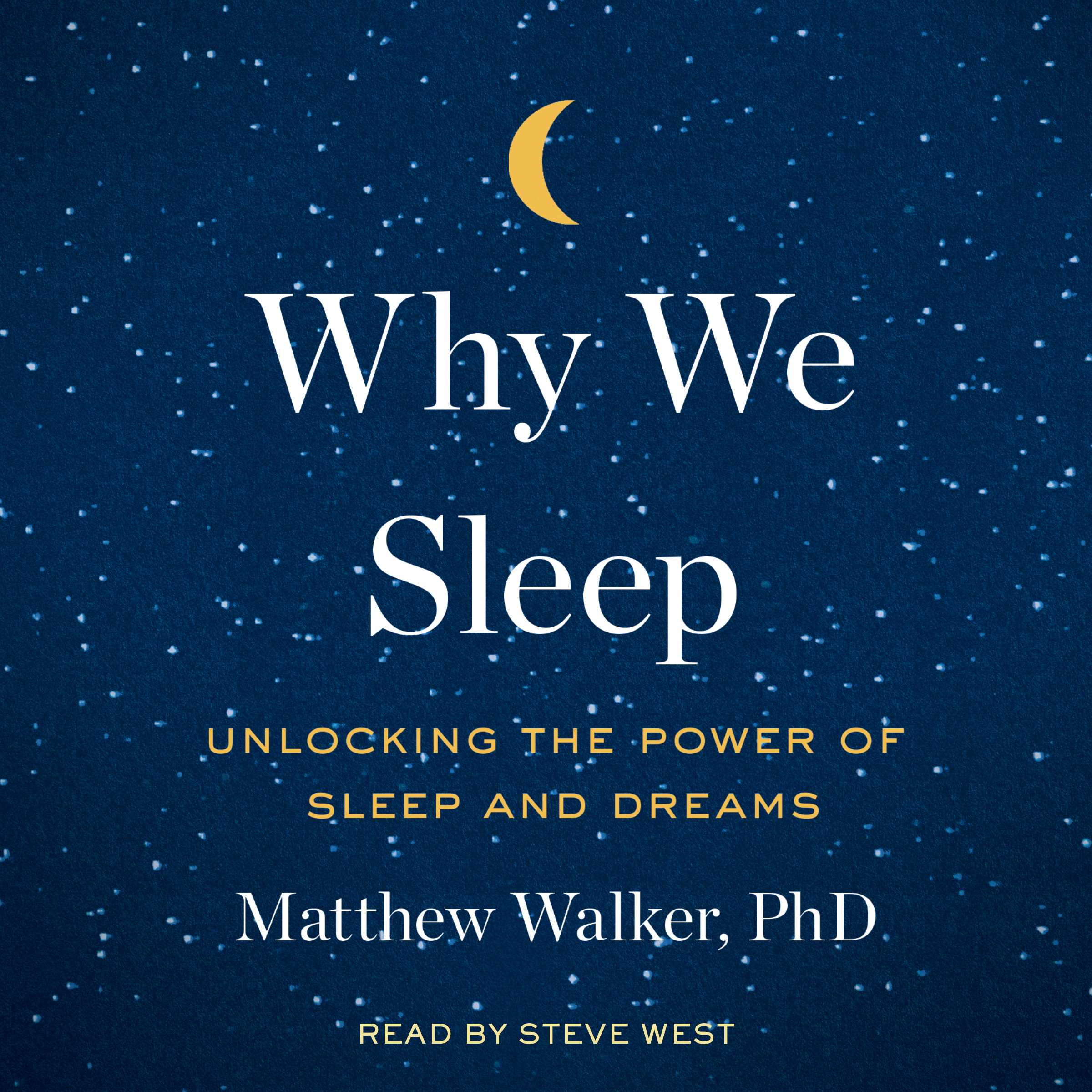 Why we sleep 9781508240013 hr