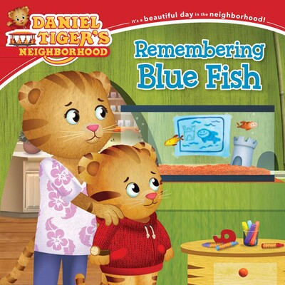 Remembering blue fish book by becky friedman jason for Blue fish book