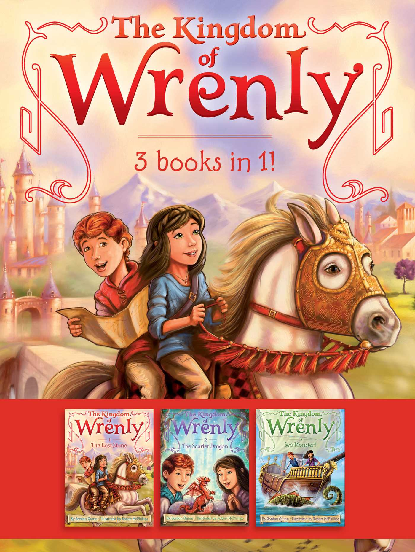 The kingdom of wrenly 3 books in 1 9781534409347 hr