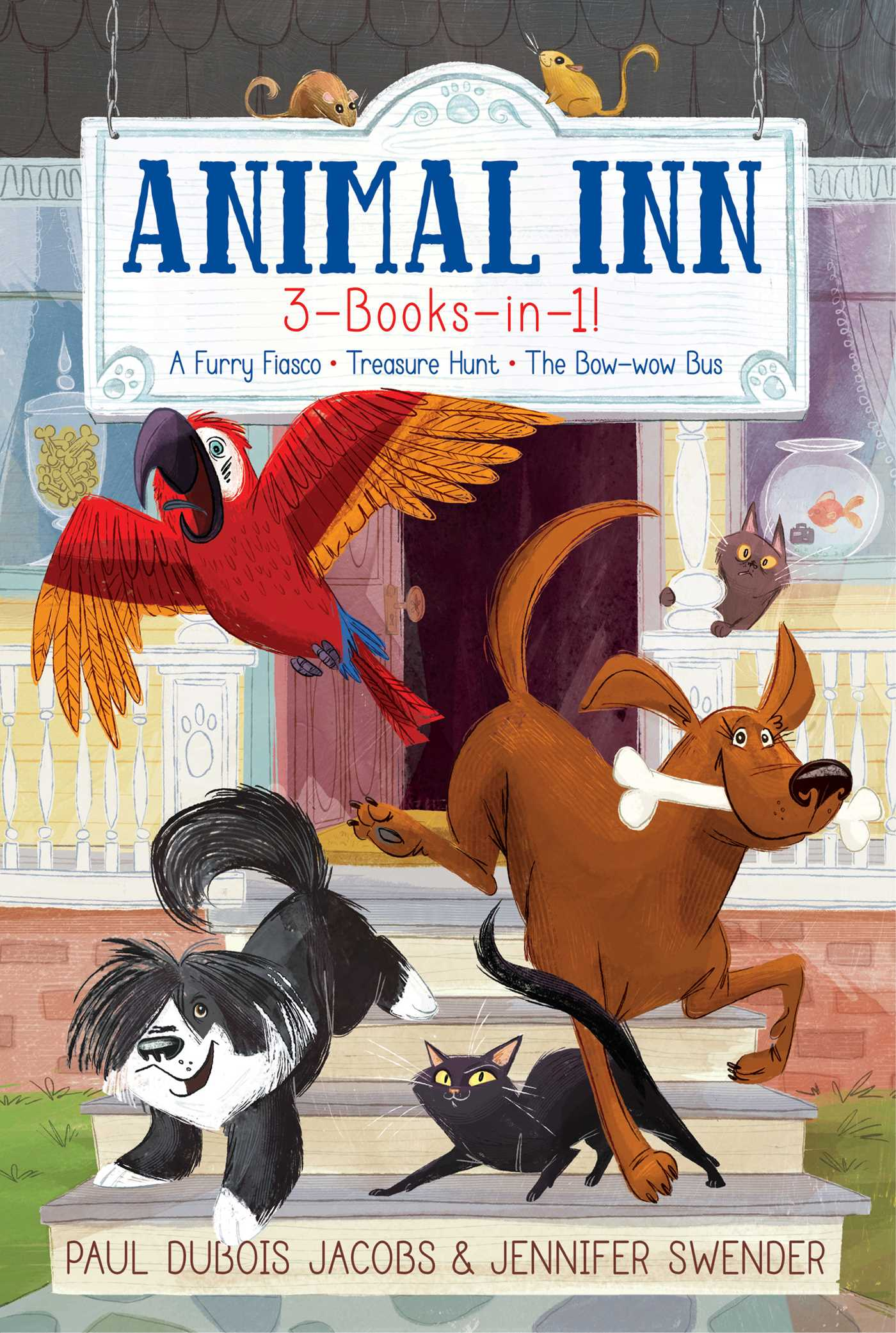 Animal inn 3 books in 1 9781534409644 hr
