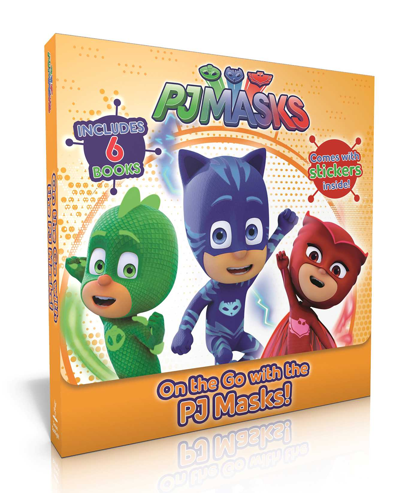 On the go with the pj masks 9781534411326 hr