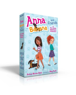 Anna, Banana, and Friends—A Four-Book Paperback Collection