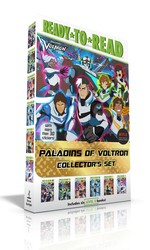 Paladins of Voltron Collector's Set (With more than 30 stickers!)