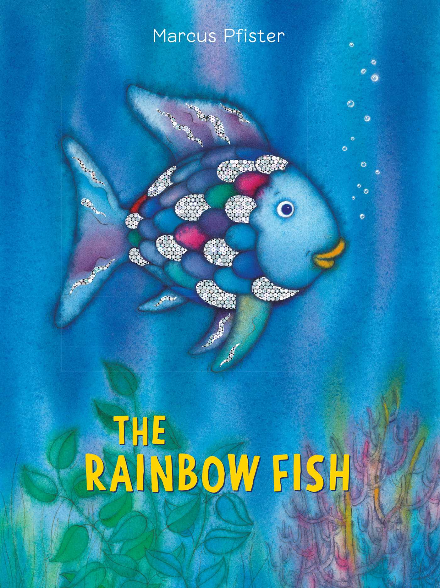 The rainbow fish book by marcus pfister j alison james for The rainbow fish