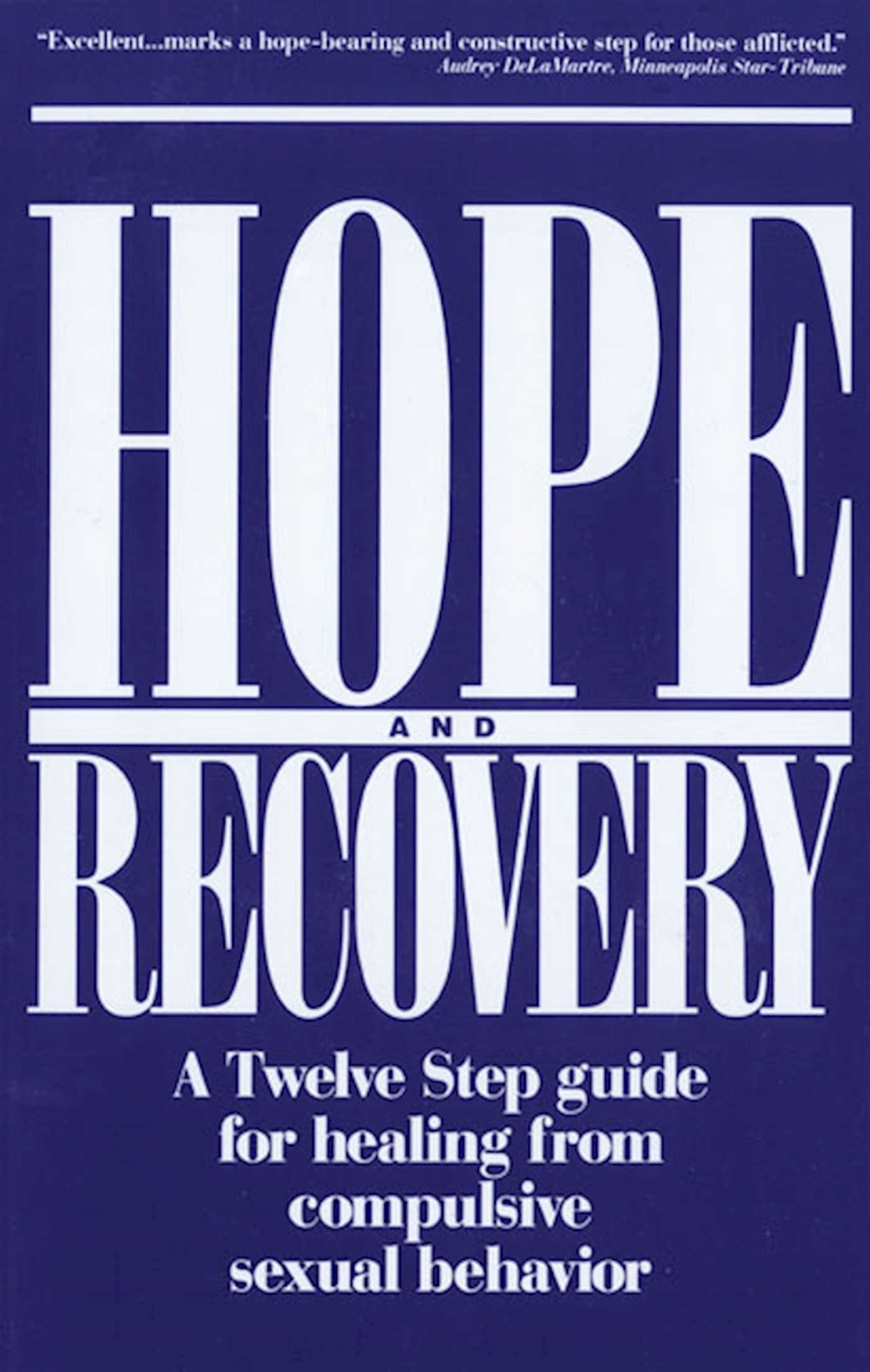 Hope and recovery 9781568380506 hr