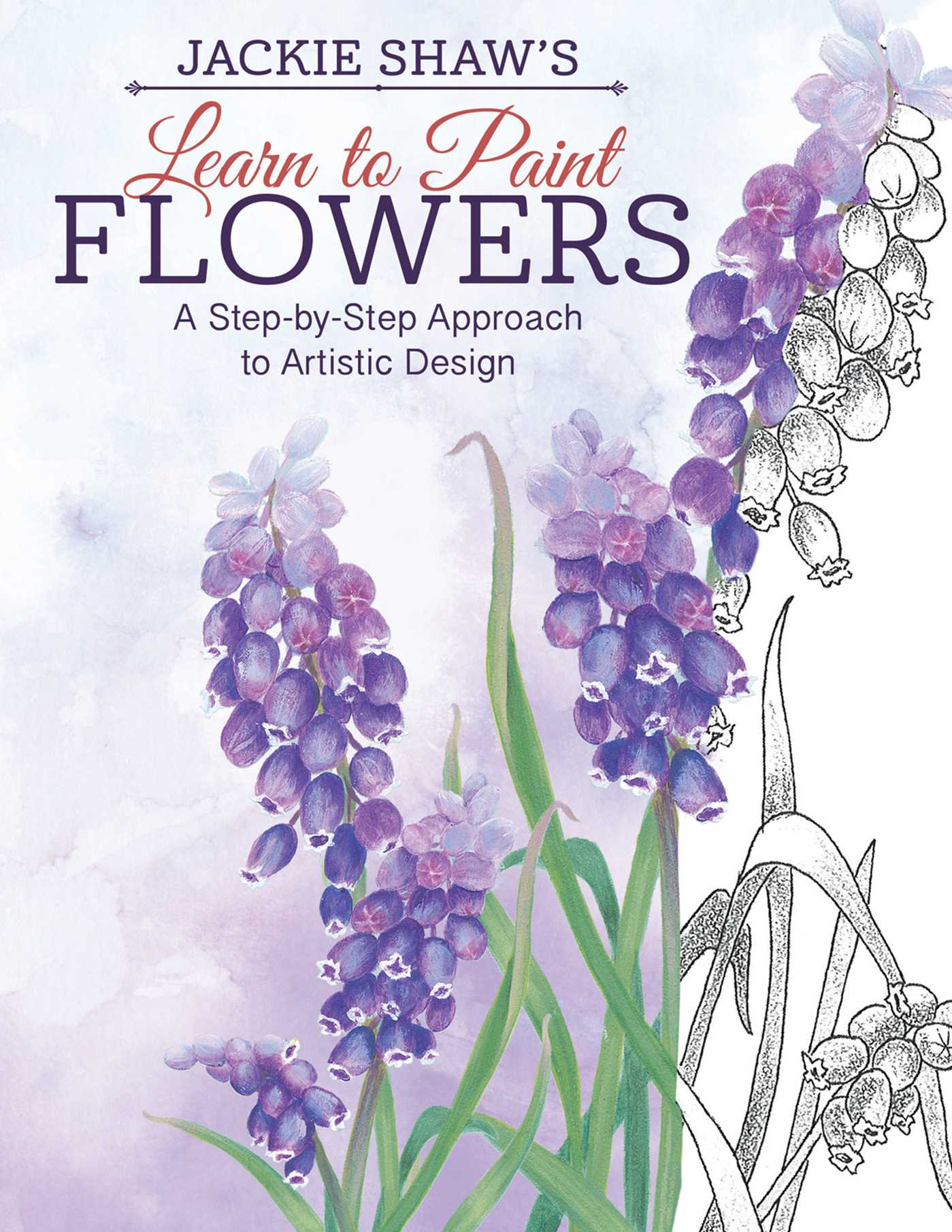 jackie shaw s learn to paint flowers book by jackie shaw