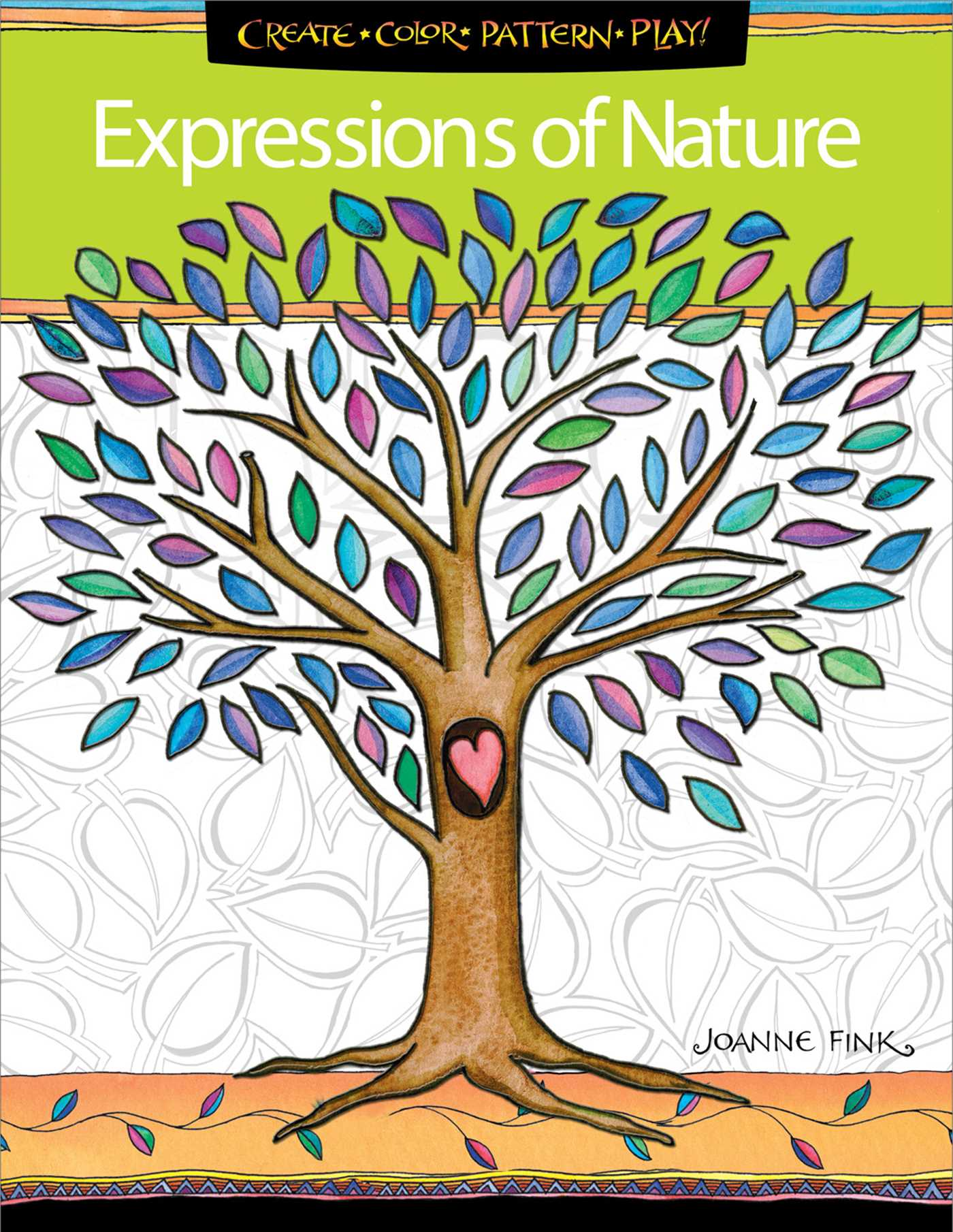 Expressions of Nature Coloring Book | Book by Joanne Fink | Official ...