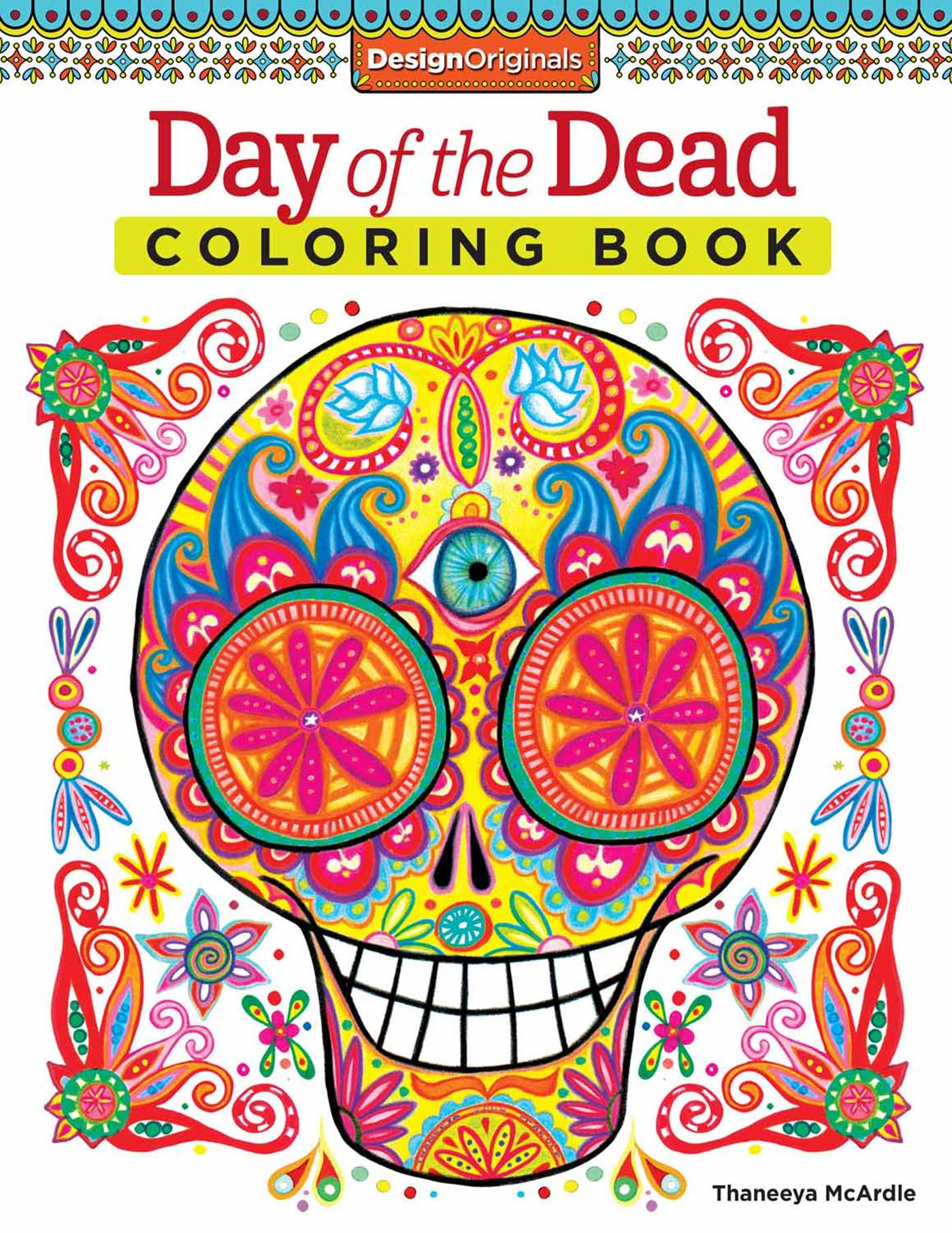 The coloring book of the dead - Day Of The Dead Coloring Book 9781574219616 Hr