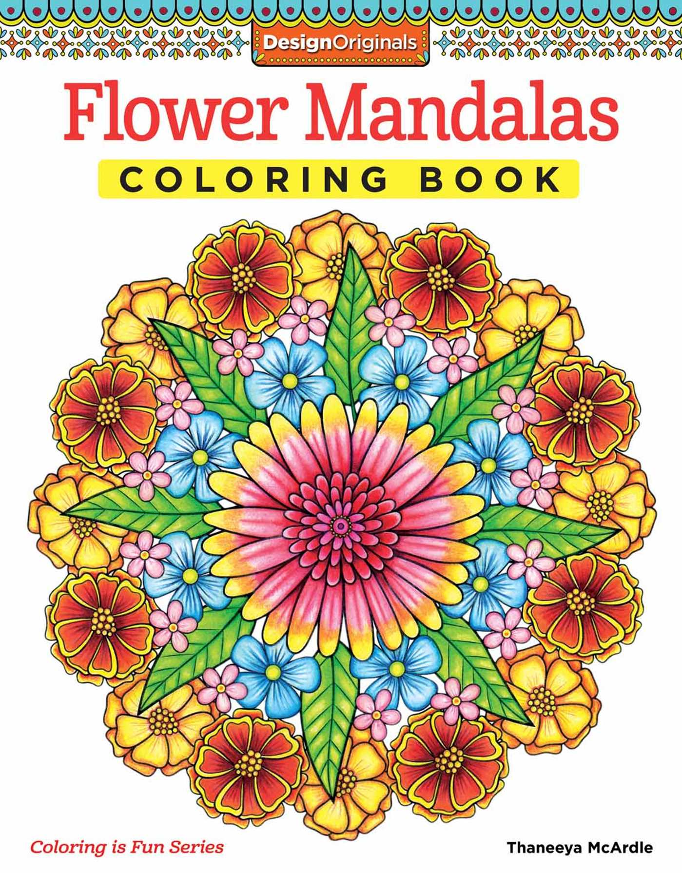 Book Cover Image Jpg Flower Mandalas Coloring