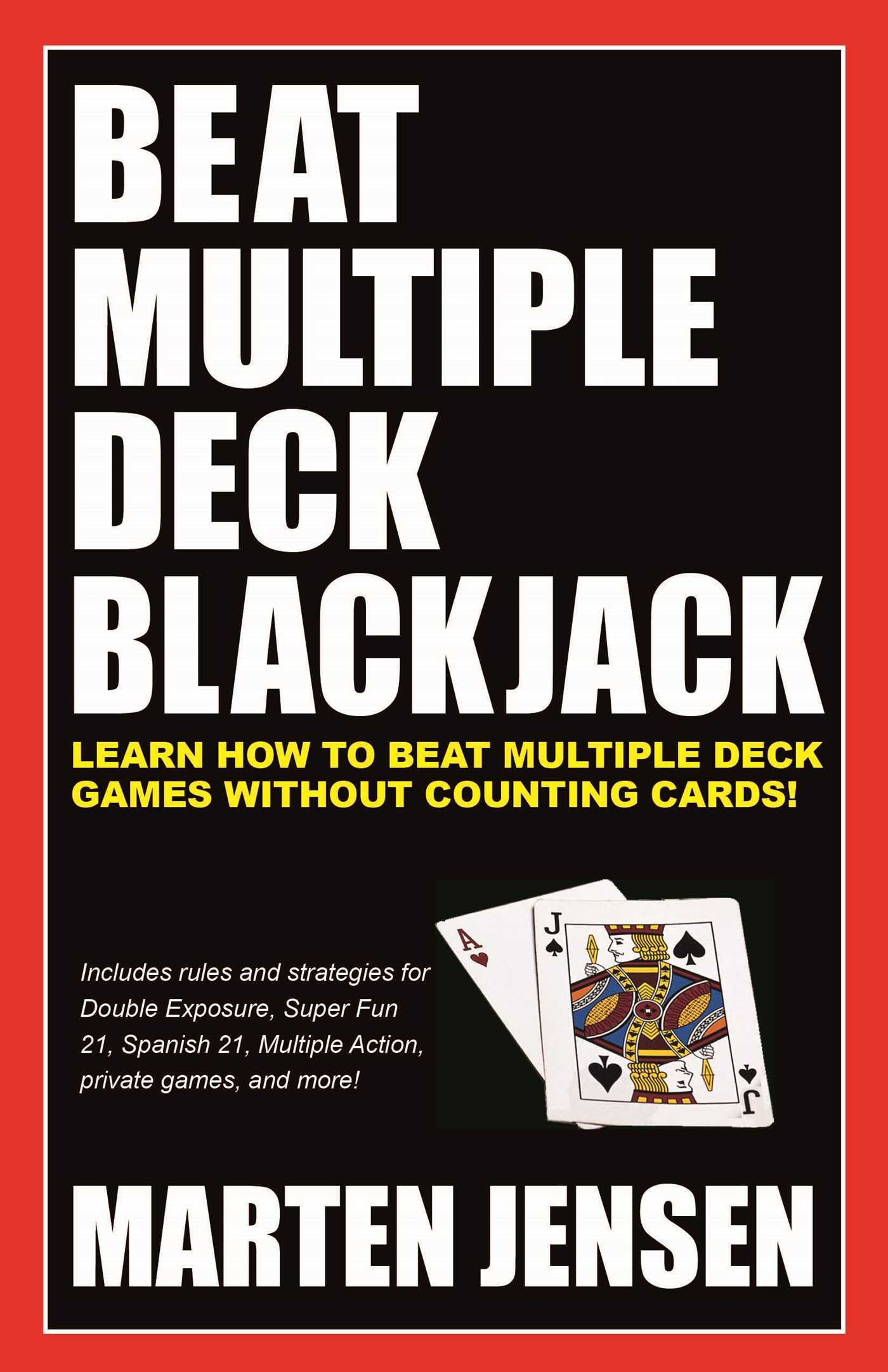 Beat multiple deck blackjack 9781580423564 hr