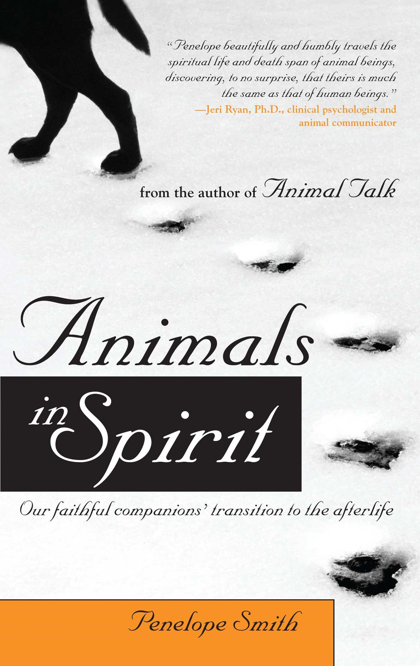 Animals in spirit 9781582701776 hr