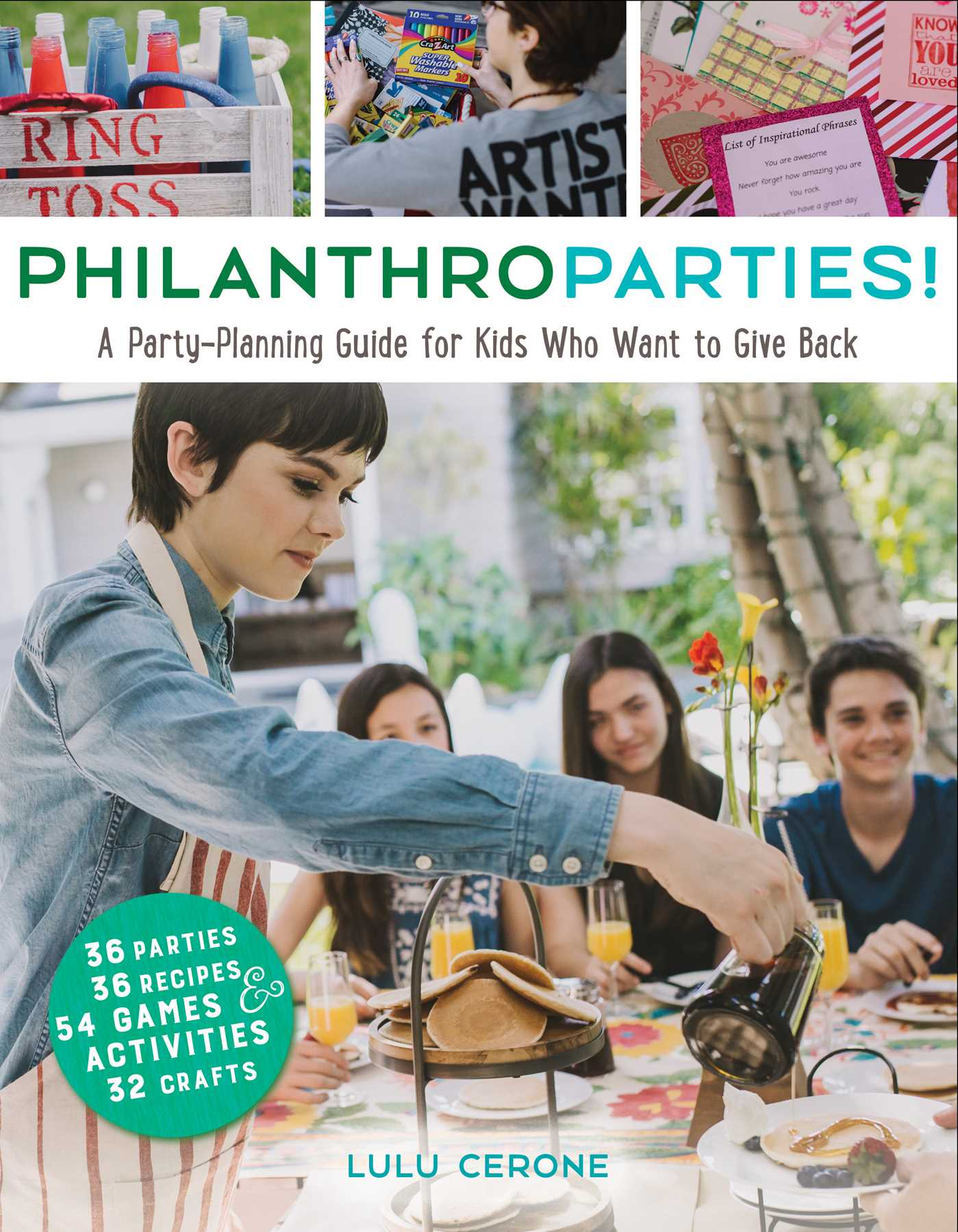 Philanthroparties 9781582705873 hr
