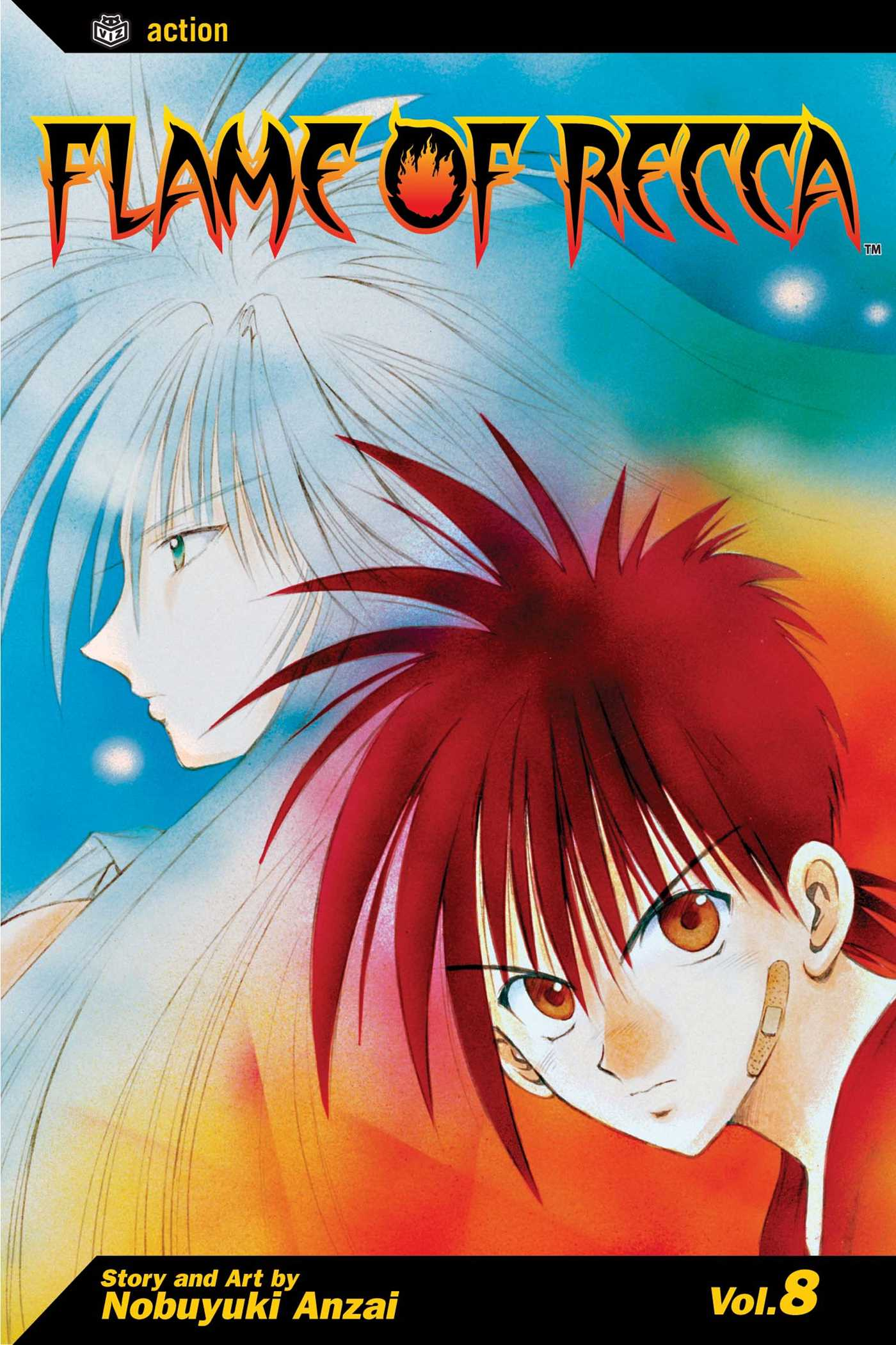 Flame of recca vol 8 9781591164807 hr