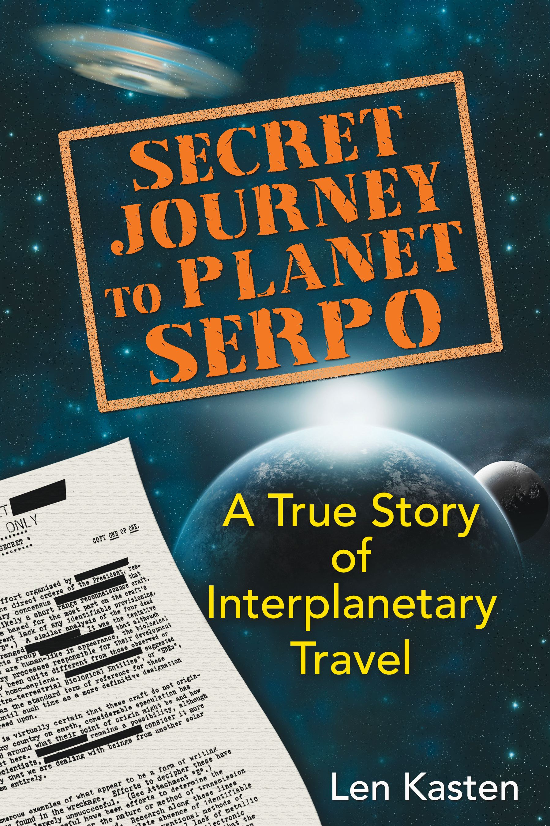 Secret journey to planet serpo 9781591431466 hr