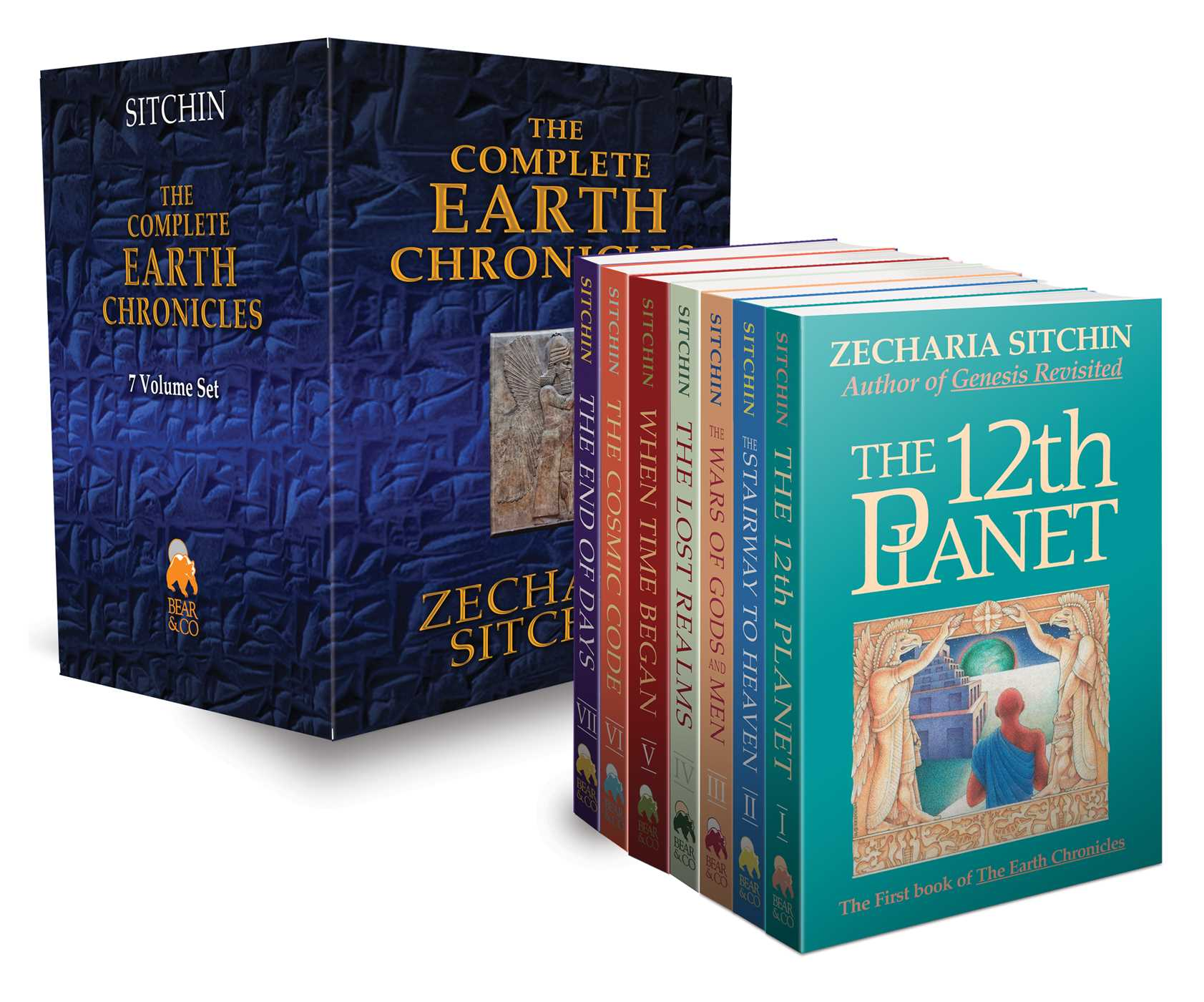 The complete earth chronicles 9781591432012 hr