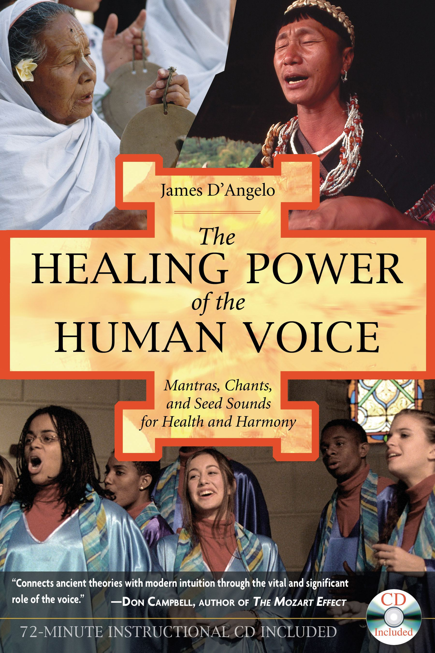 The healing power of the human voice 9781594770500 hr
