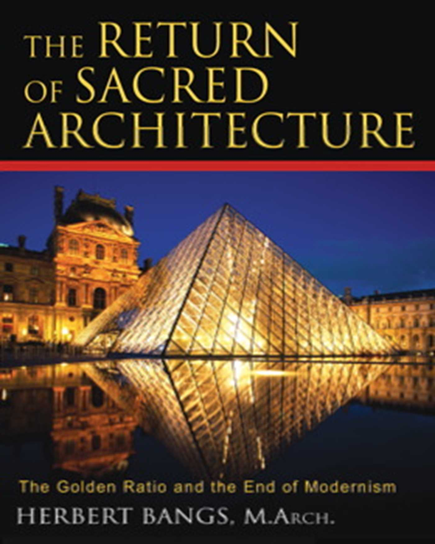 The return of sacred architecture 9781594771323 hr