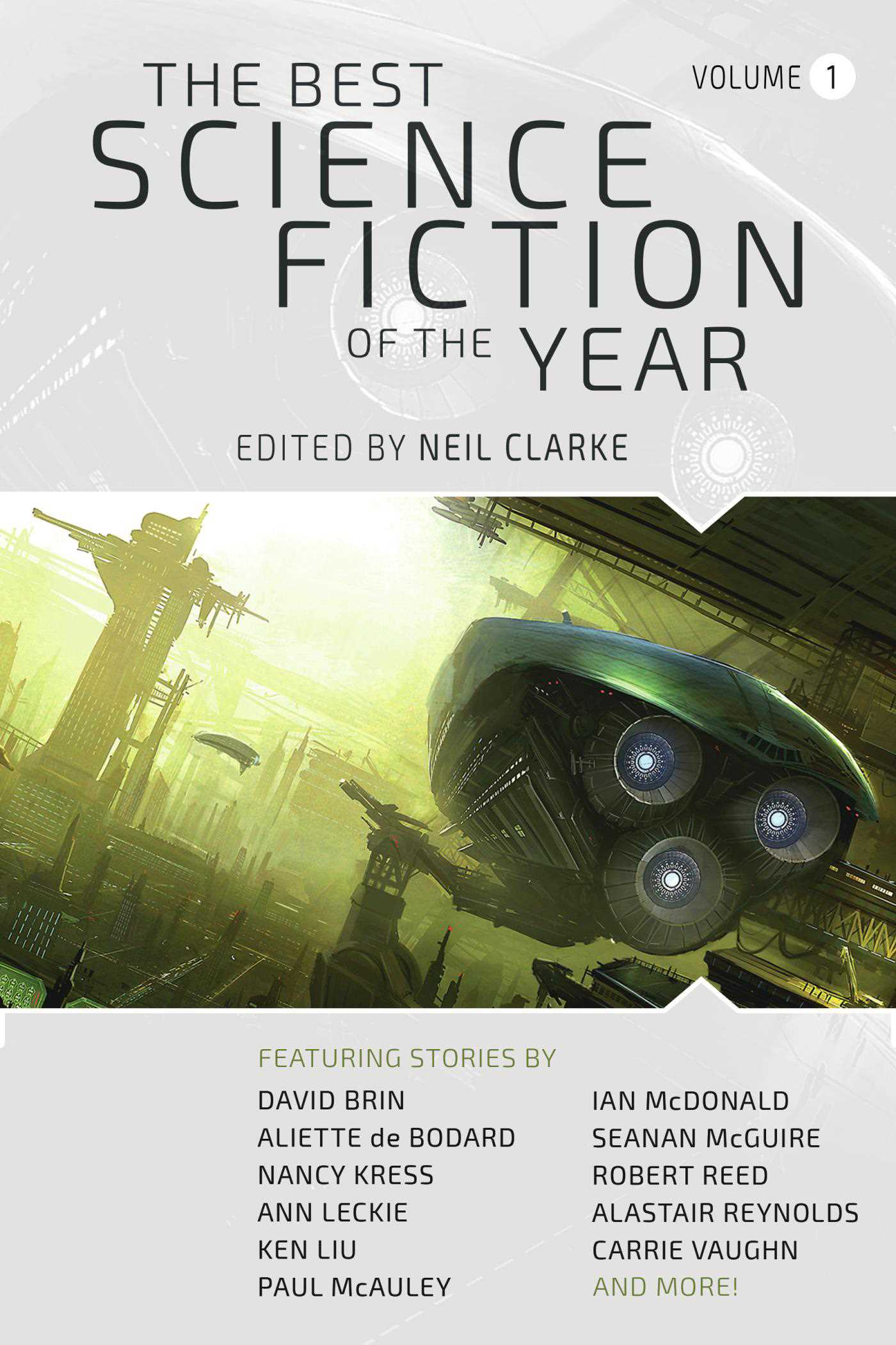 The best science fiction of the year 9781597805889 hr