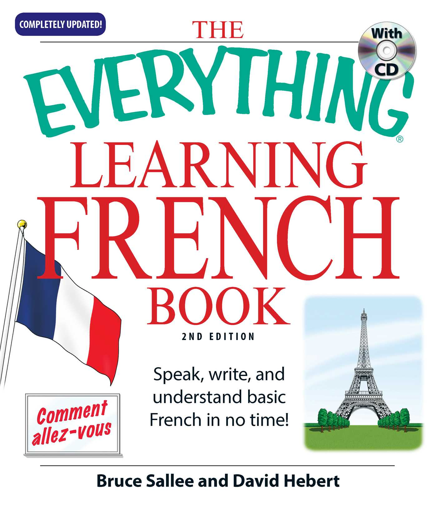 The Everything Learning French Book By Bruce Sallee David Hebert