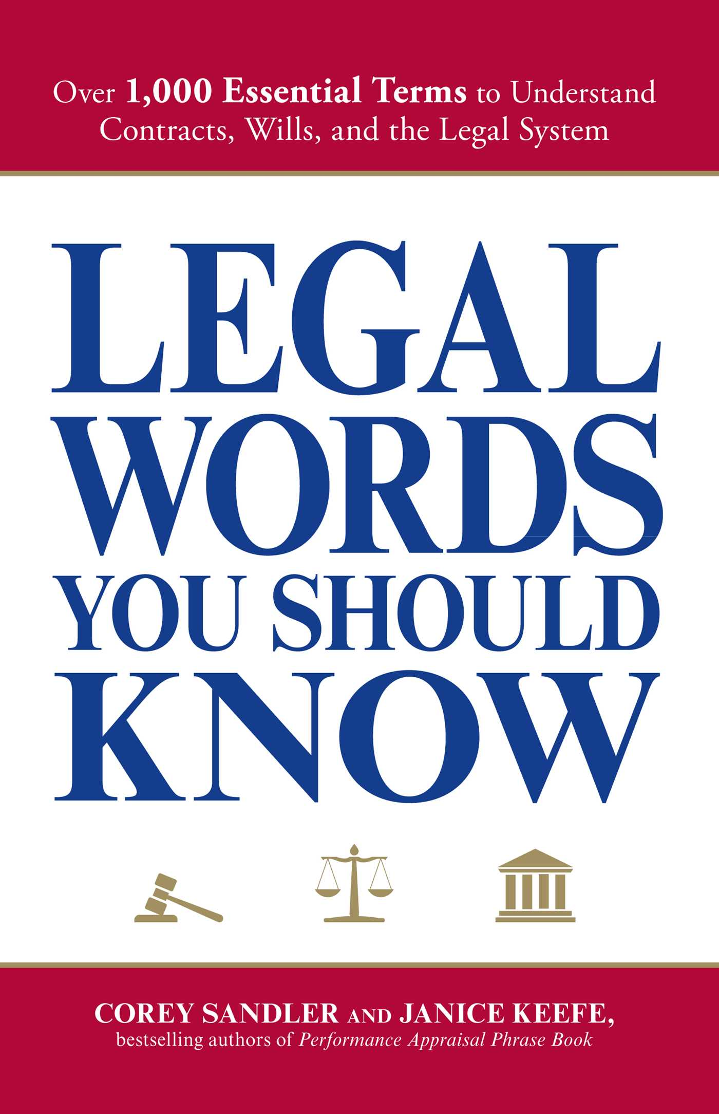 Legal Words You Should Know | Book by Corey Sandler, Janice Keefe ...
