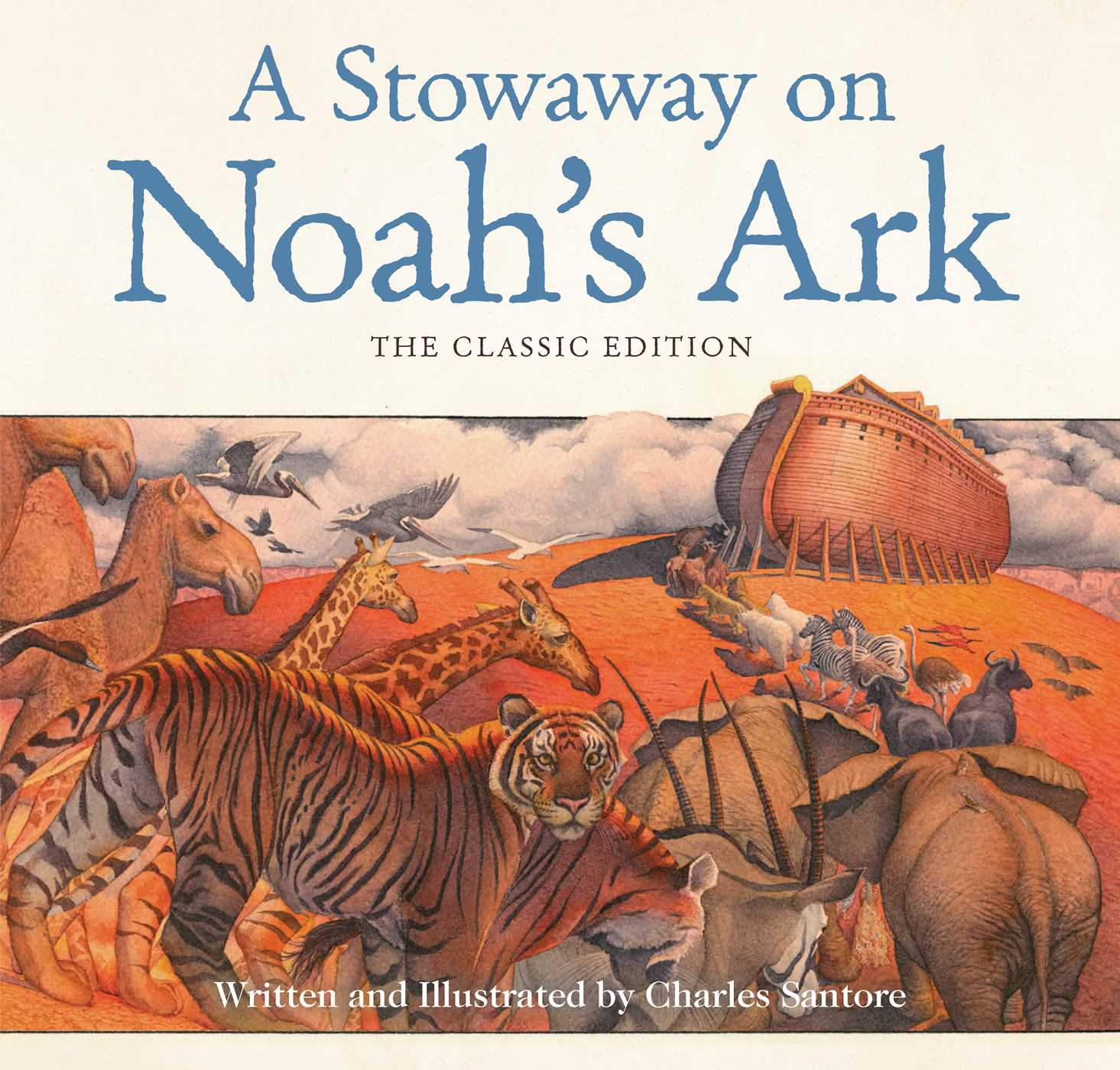 a stowaway on noah u0027s ark book by charles santore official