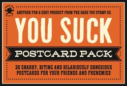 The You Suck Postcard Pack