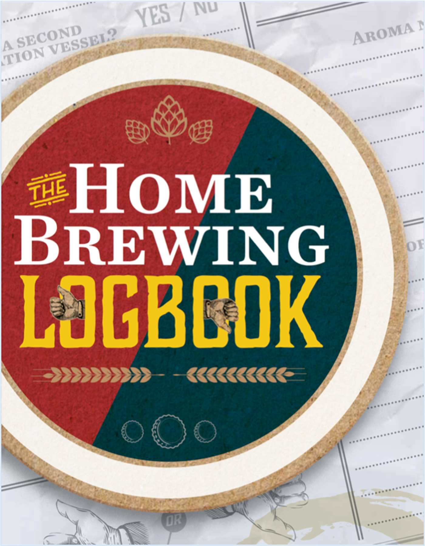 Home brewing logbook 9781604336139 hr