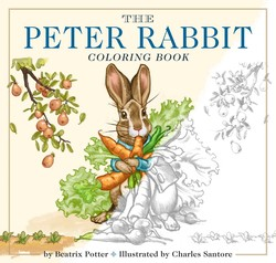 The Peter Rabbit Coloring Book