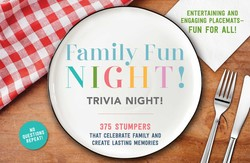 Family Fun Night Trivia Night Placemats