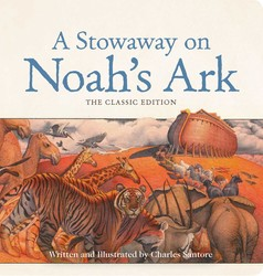 A Stowaway on Noah's Ark Oversized Padded Board Book