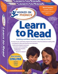 Hooked on Phonics Learn to Read - Levels 3&4 Complete