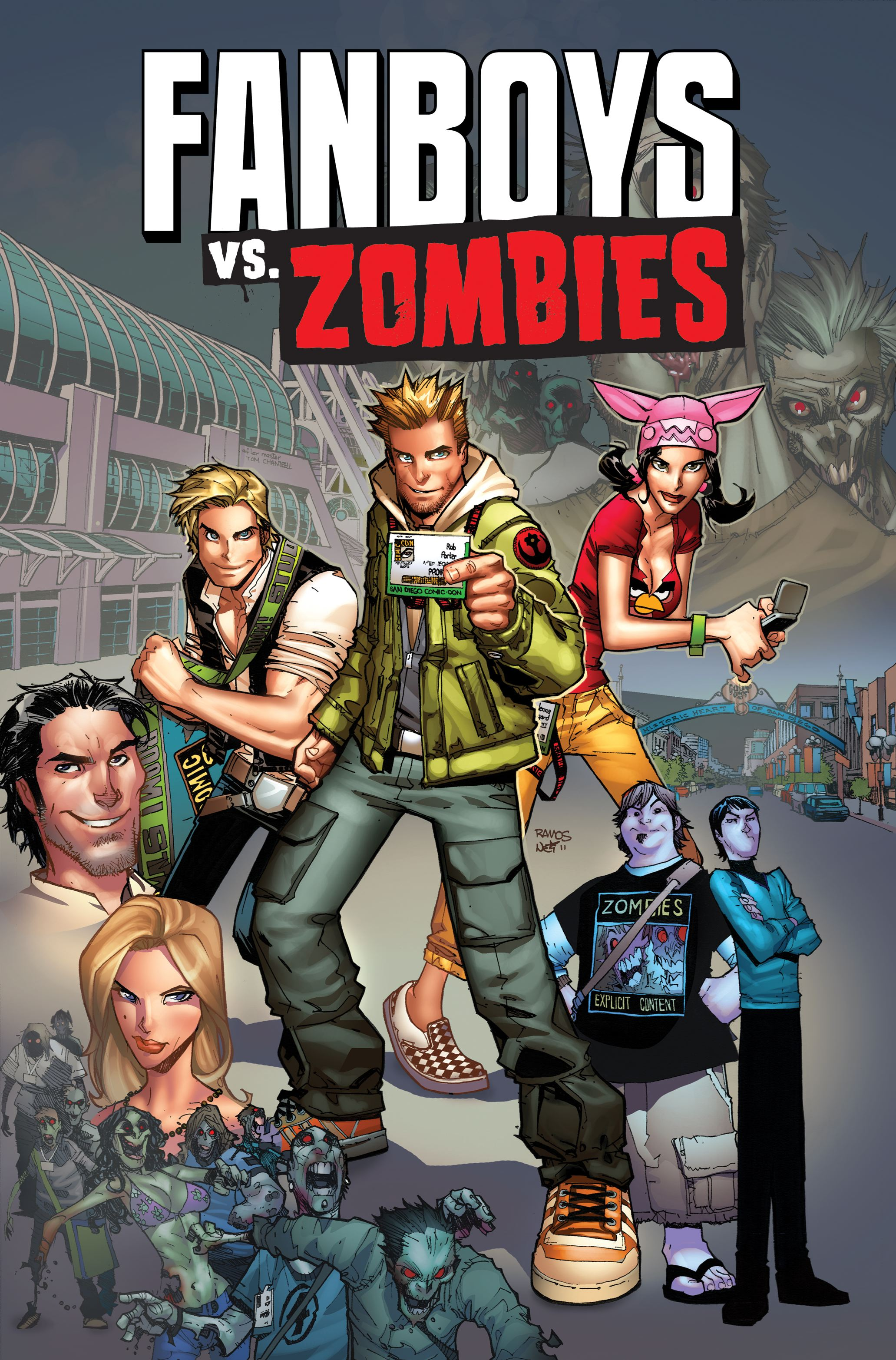 Fanboys vs zombies 9781608862894 hr