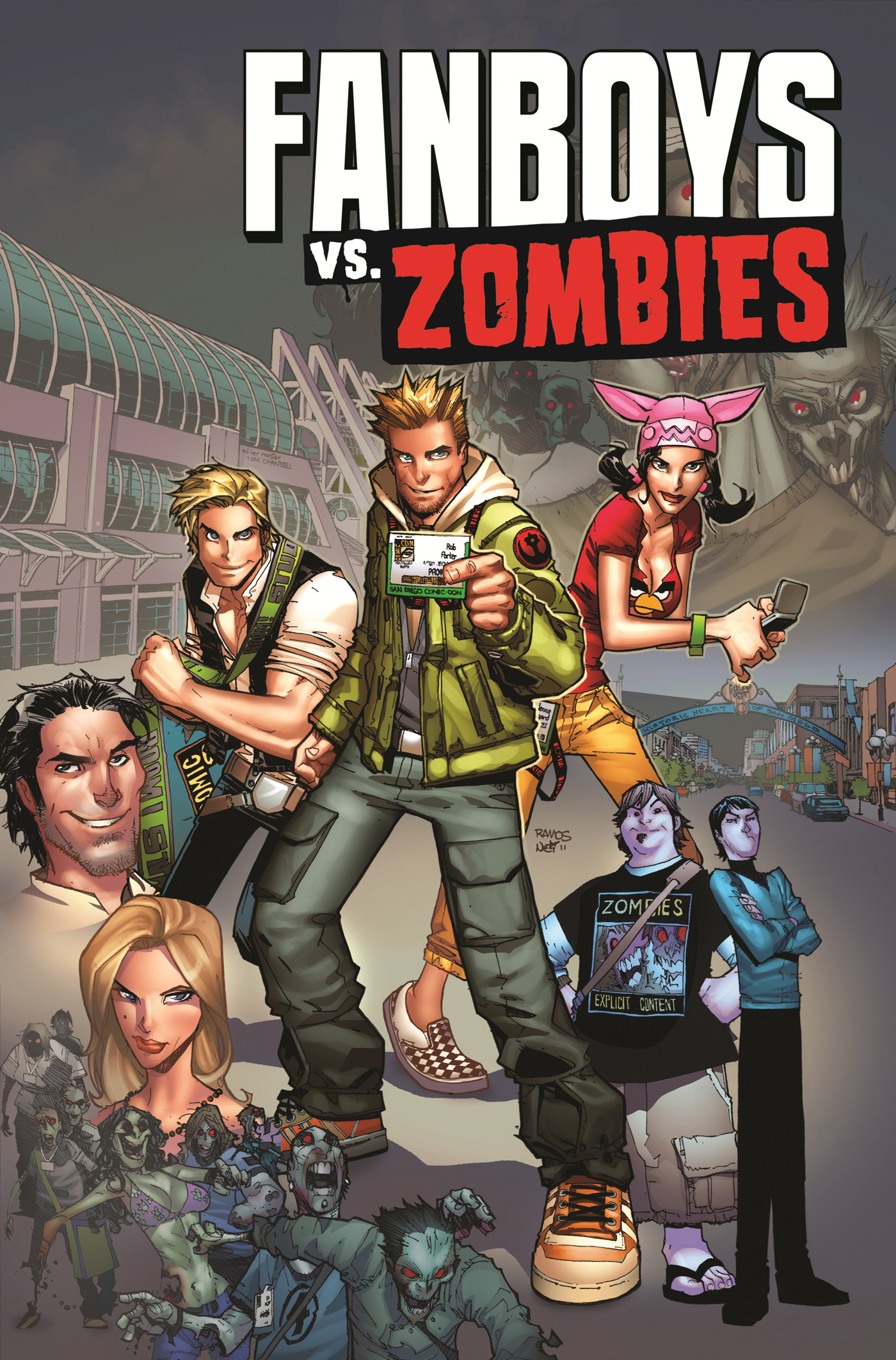 Fanboys vs zombies vol 2 9781608863075 hr