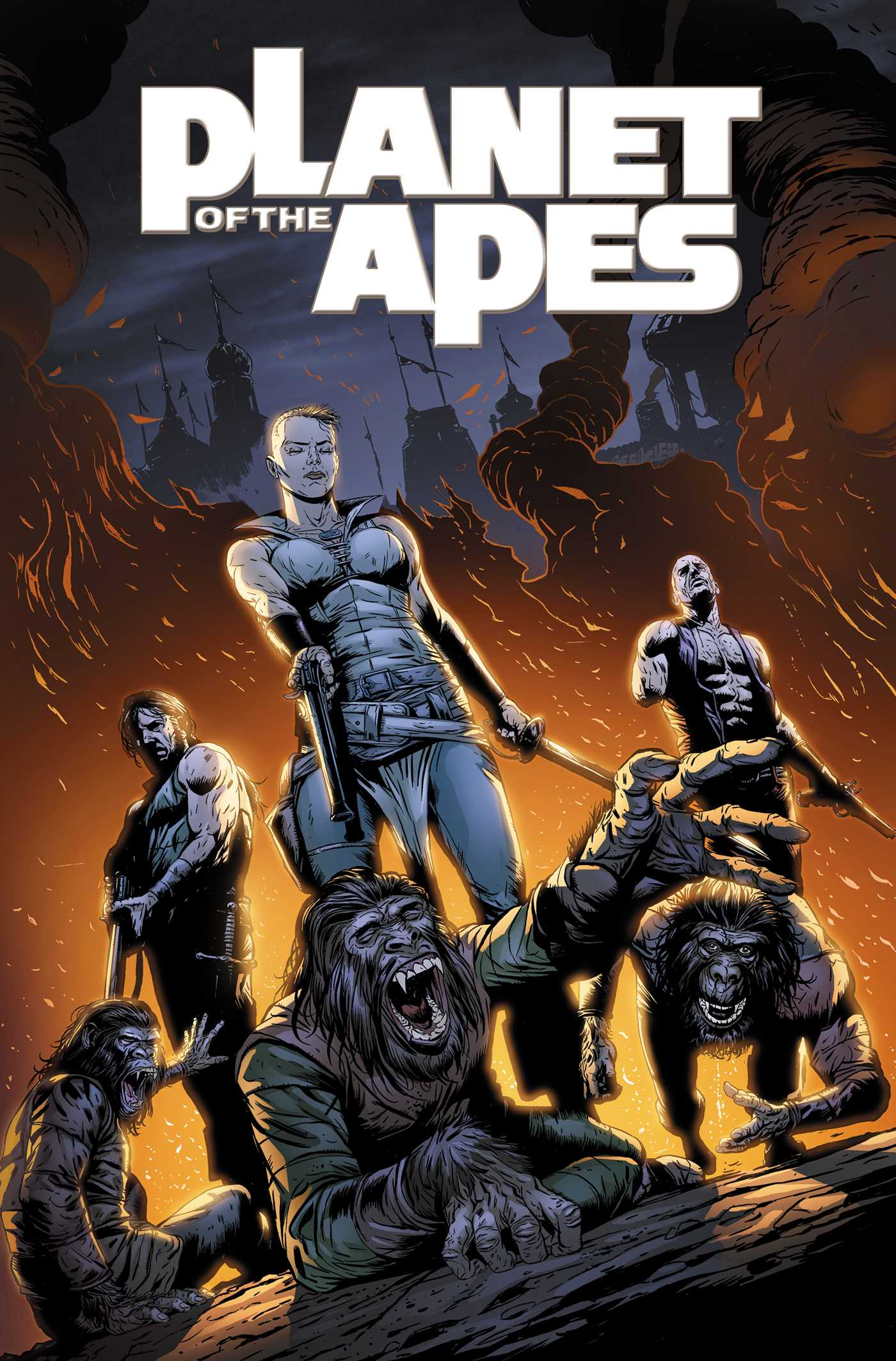 Planet of the apes vol 5 9781608863709 hr